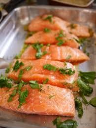 cuisine poisson facile pavés de saumon au four la recette facile marciatack fr