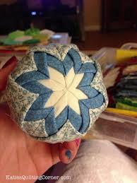 ornament styrofoam fabric glue ribbon free