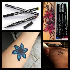 pen tattoo last semi permanent tattoo pen black tattooforaweek tattoo pens