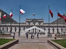 Chile Santiago Flag Ein Zwischenstopp Santiago De Chile Mit Prachtbauten Aus Der