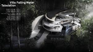 Falling Water Floor Plan Pdf Villa Lake And Villa Falling Water Jia Zhou Zhu Archinect