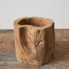 wood log vases log vase magnolia chip joanna gaines magnolia market