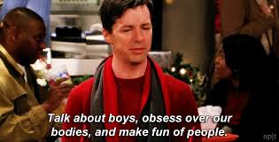 Exactly Gif Will And Grace Jack Mcfarland Gifs Popsugar Entertainment
