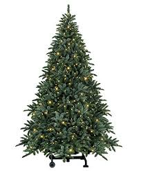 led christmas tree 7 ft deluxe noble fir snap pre lit led christmas tree tree classics