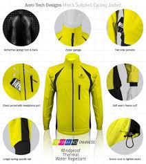 waterproof softshell cycling jacket aero tech designs men s windproof thermal cycling jacket