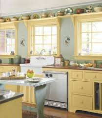 yellow kitchen ideas yellow and white kitchen