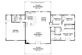 ranch house floor plan ranch house plans anacortes 30 936 associated designs style house