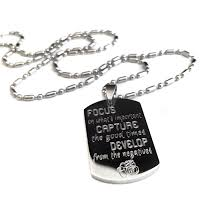 inspirational necklaces men s inspirational medium dog tag necklace uniqjewelrydesigns