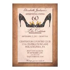 birthday invites incredible 60th birthday invitations design
