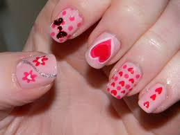 valentine day 2017 nail art ideas and designs hd wallpapers