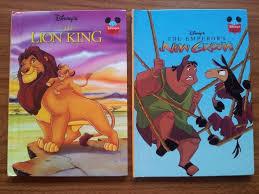 listing disney books lion king u0026 emperor u0027s groove