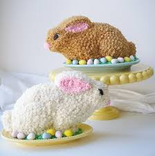 rabbit cake easter rabbit cakes sugarywinzy