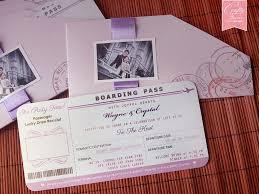 boarding pass wedding invitations boarding pass wedding invitation card yourweek 48af1ceca25e