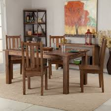 Leather Dining Room Chairs by Exellent Rustic Dining Room Tables And Chairs Height Set With