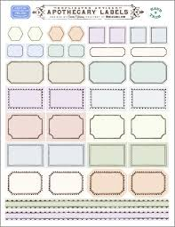 blank label template ornate apothecary blank labels by cathe holden worldlabel
