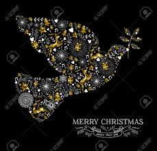 merry happy new year greeting card design