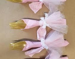 ballerina baby shower ideas tutu napkins etsy