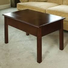 coffee table with pop up tray thesecretconsul com