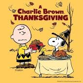 a brown thanksgiving tv on play
