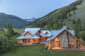 Log Cabin Designs Wondrous Ranch Log Cabin Designs Using Crooked River Chimney Rock