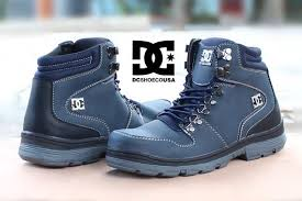 Sepatu Dc Jual jual sepatu dc peary winter safety boots navy baru sneaker olshop