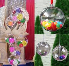 10pcs hanging balls tree decor ornament 5cm box