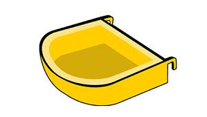accessori per gabbie mangiatoie per uccelli interne o esterne arcaplanet