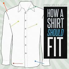 how should dress shirts fit principles of fit primer