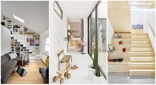 escalier entre cuisine et salon escalier couloir 40 idées d aménagements malins photos
