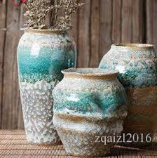 creative ceramic vase three sets of simple european style flower
