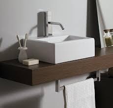 mensola lavabo da appoggio piano per lavabo top h10 cm slim