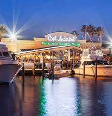 captain s table panama city about capt anderson s restaurant in panama city beach waterfront