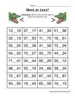 Havefunteaching Com Math Worksheets Inequalities Worksheets Teaching