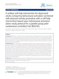 combining behavioural activation with physical activity promotion