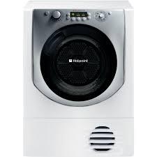 hotpoint aqualtis aqc9 bf7 e1 dryer white hotpoint uk