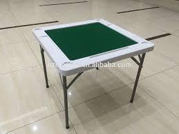 plastic table for folding square mahjong tables buy foldable mahjong table folding