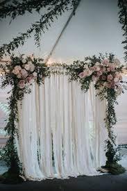 How To Decorate A Wedding Arch Whimsically Elegant San Francisco Wedding Indoor Wedding