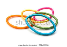 hair bands colorful hair bands stock photo 702415798