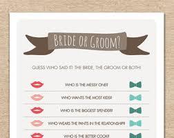 who said it bridal shower boho bridal shower he said she said or groom