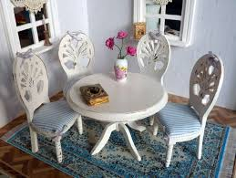 Dollhouse Dining Room Furniture 107 Best Dollhouse Kitchen Dining Room Images On Pinterest