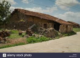 traditional rural house maharashtra india stock photos