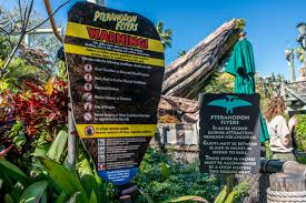 halloween horror nights age restrictions pteranodon flyers at universal u0027s islands of adventure