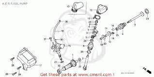 honda mtx honda mtx125rw 1985 f france yb h e r p oil pump schematic