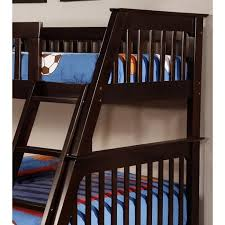 espresso twin bed twin full bunk bed