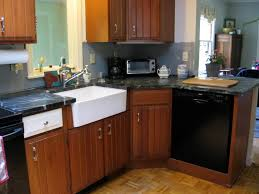 What Color Should I Paint My Kitchen With Dark Cabinets Should I Paint My Cherry Cabinets White