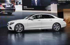 mercedes e class wheelbase mercedes e class launches in china