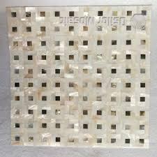 kitchen backsplash wall tile chinese freshwater shell and black