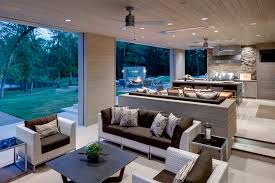 outdoor living room deck and patio photos commercial and indoor outdoor living space with flush mount w series heaters photo via linda