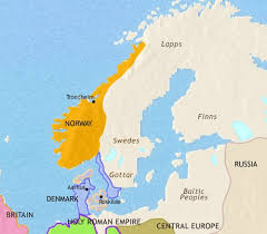 map northern europe scandinavia map of scandinavia at 979ad timemaps