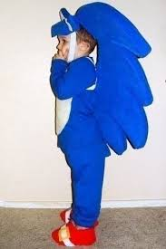 Sonic Halloween Costume Sonic Hedgehog Knucles Kids Halloween Costume